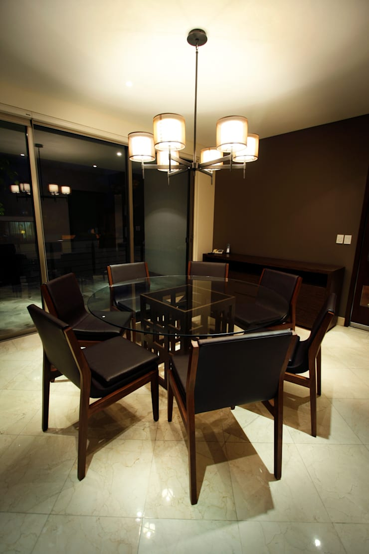 Salle à manger de style  par Concepto Taller de Arquitectura, Moderne