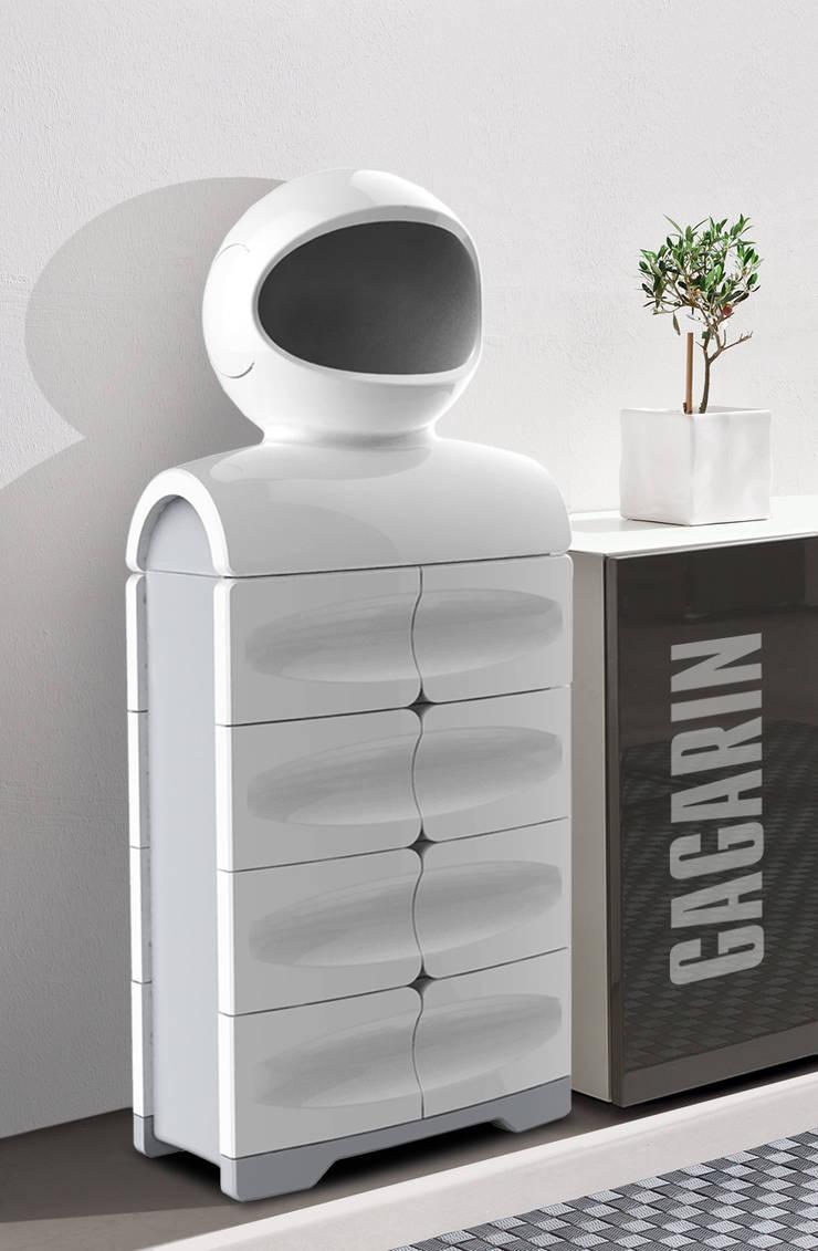 Gagarin in interior: Гардеробная в . Автор – Open Design Brand