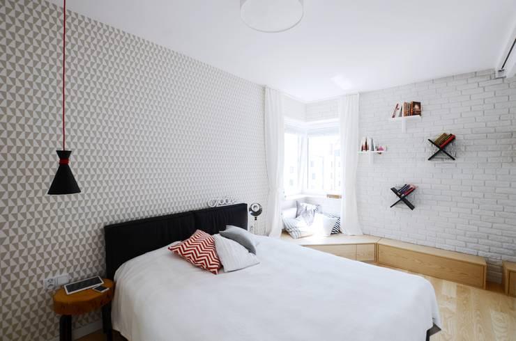 Devangari Designが手掛けた寝室