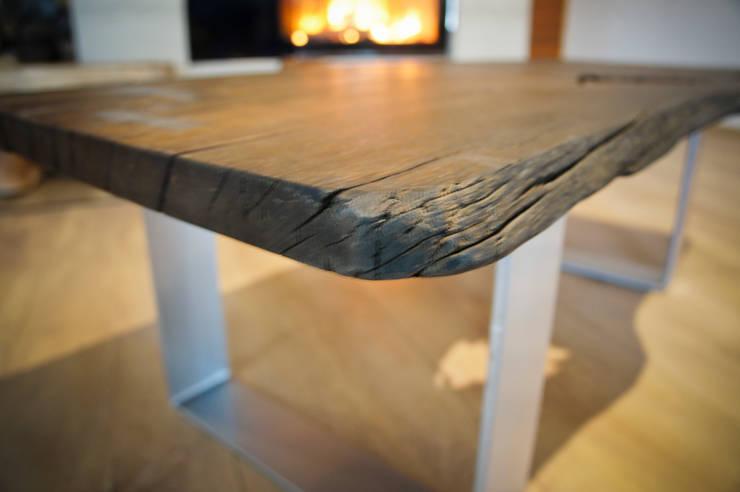 Stolik kawowy: styl , w kategorii Salon zaprojektowany przez Old Wood Design,