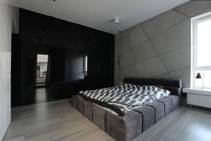 Mieszkanie Mokotów: styl , w kategorii Sypialnia zaprojektowany przez Devangari Design
