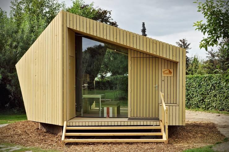 Trek-in - duurzame Trekkershut:  Huizen door Kristel Hermans Architectuur