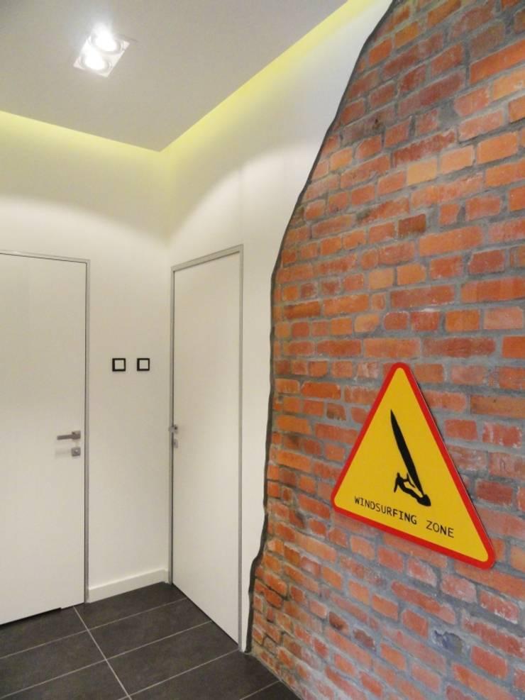 Kamienica na Puławskiej : styl , w kategorii Łazienka zaprojektowany przez Devangari Design,