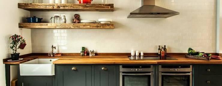 Masif Panel Çözümleri - Serender Ahşap Dekorasyon – Ahşap Mutfak Tezgahı Uygulaması: akdeniz tarzı tarz Mutfak