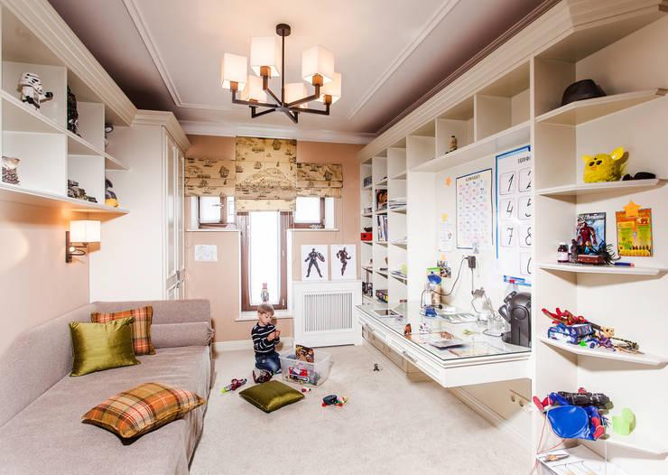 Москва, Весковский переулок: Детские комнаты в . Автор – Prosperity, Эклектичный