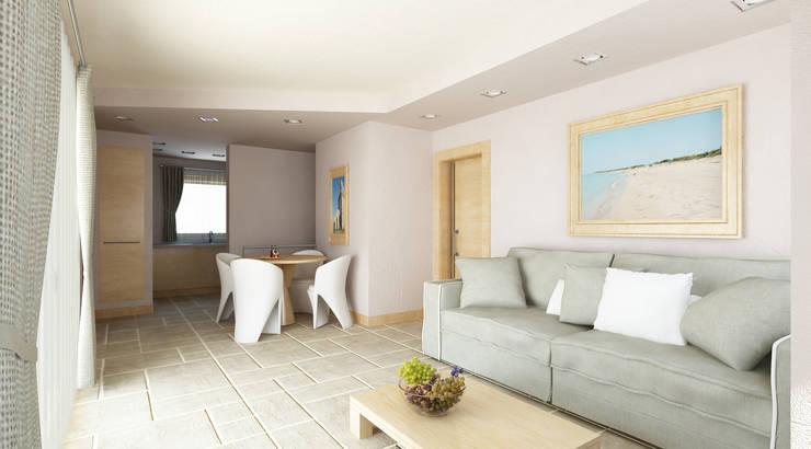 De Vivo Home Design: akdeniz tarzı tarz Oturma Odası