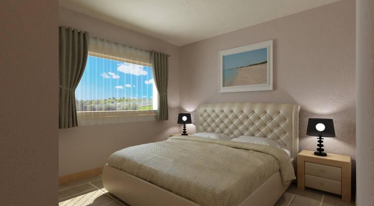 Dormitorios de estilo mediterráneo de De Vivo Home Design