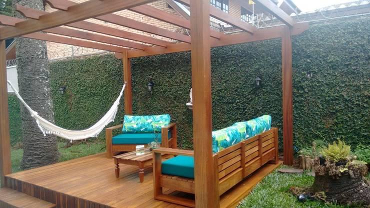 Projekty,  Ogród zaprojektowane przez Bela Forma Marcenaria