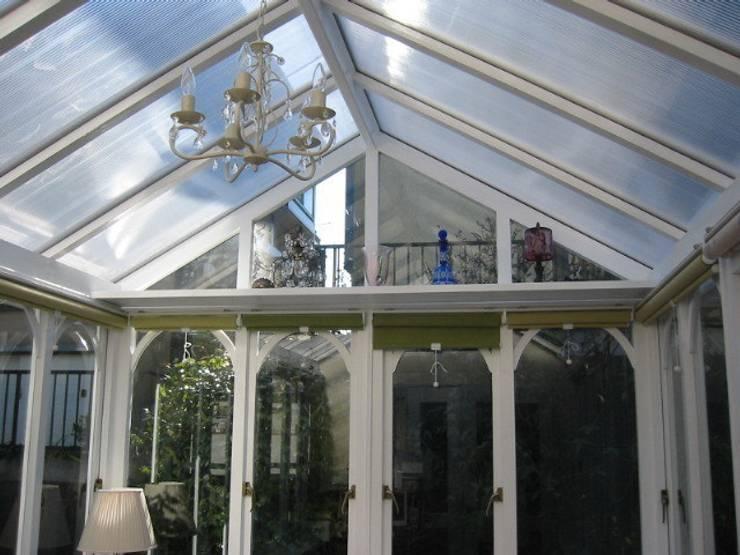 Conservatory: (株)ハウスオブポタリーが手掛けたサンルームです。
