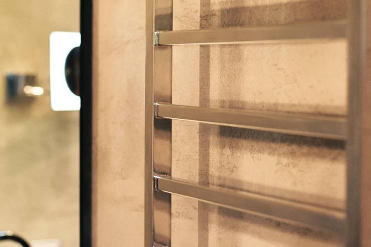 Betonowa Łazienka: styl , w kategorii Łazienka zaprojektowany przez Akuratnie