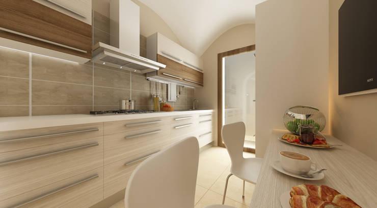 Cozinhas ecléticas por De Vivo Home Design