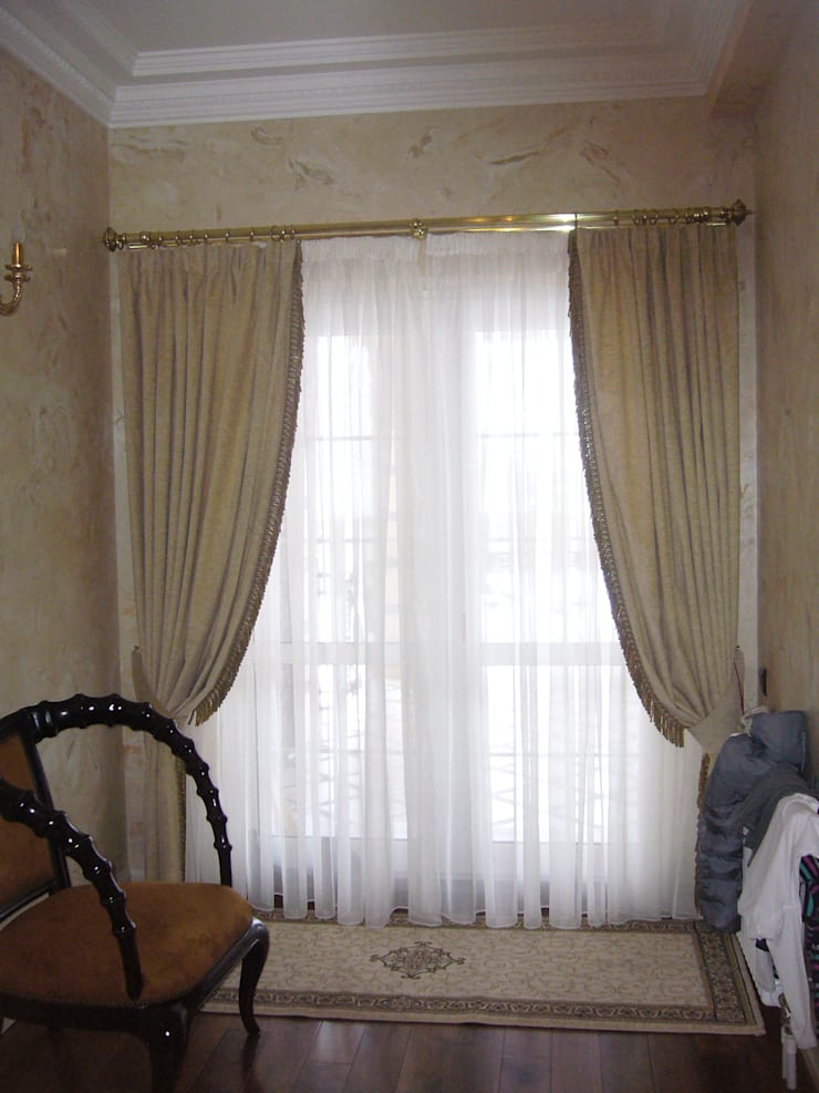 Дом на Рублевском шоссе: Рабочий кабинет  в . Автор – Prosperity