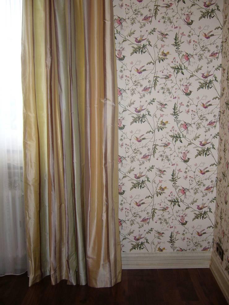 Дом на Рублевском шоссе: Спальная комната  в . Автор – Prosperity