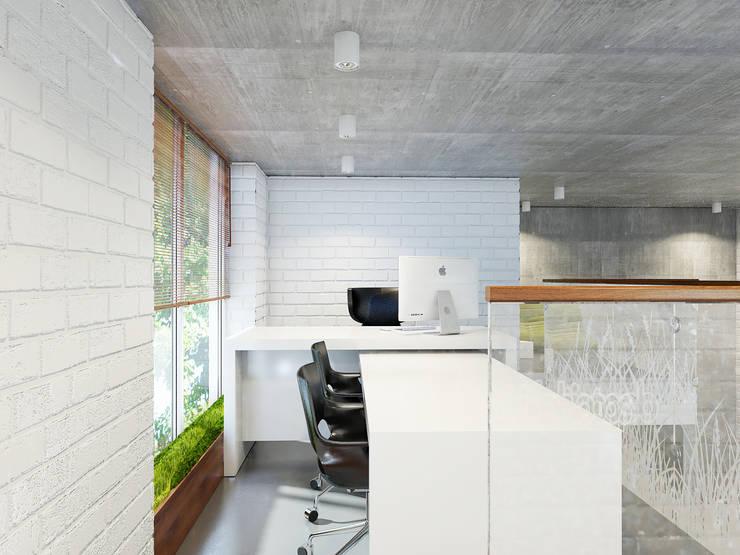 Офисные помещения в . Автор – ELIZABETH STUDIO DESIGN