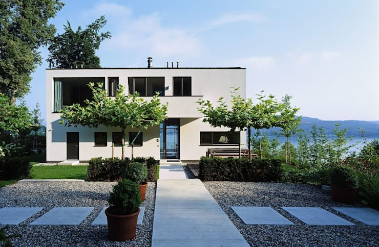 Villa Reifnitz, Wörthersee:  Villa von Arkan Zeytinoglu Architects