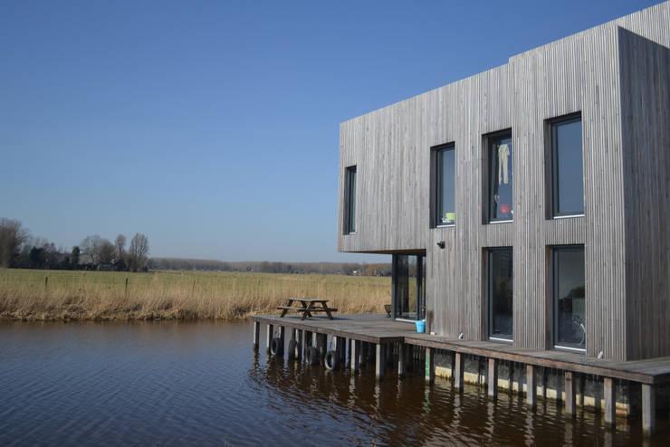 Woning te Leeuwarden:  Huizen door Dorenbos Architekten bv