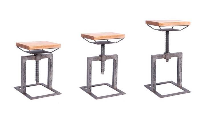 Hoker/ Stołek Kant : styl , w kategorii Gastronomia zaprojektowany przez Rekoforma,Industrialny
