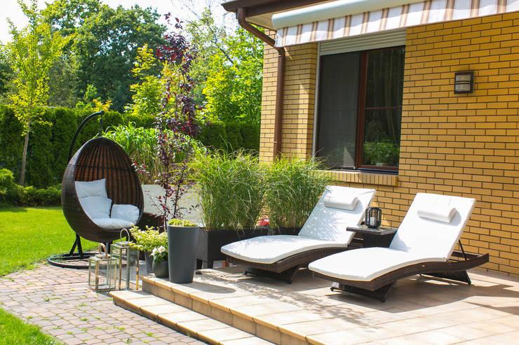 Taras : styl , w kategorii Ogród zaprojektowany przez Miejskie Ziele