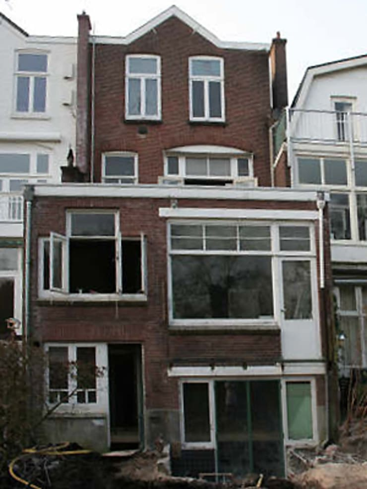 Casas estilo moderno: ideas, arquitectura e imágenes de Boks architectuur Moderno