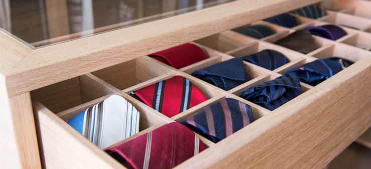 غرفة الملابس تنفيذ DESIGNWERK Christl