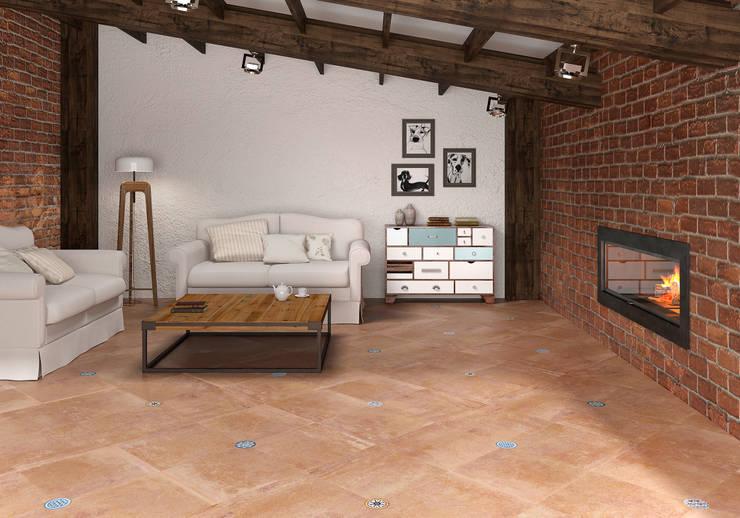 Alhambra Circle: Salones de estilo  de SANCHIS