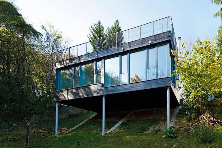 Casas modernas por sandbichler architekten