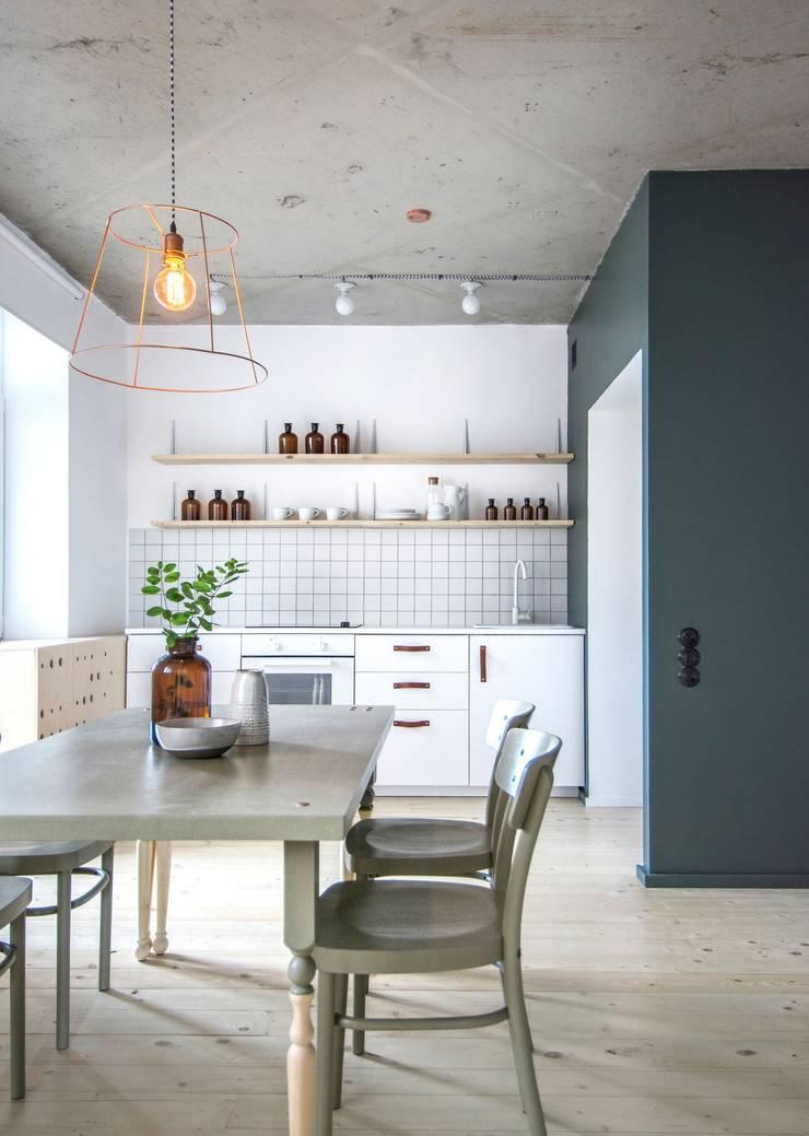 Интерьер AK: Кухни в . Автор – INT2architecture
