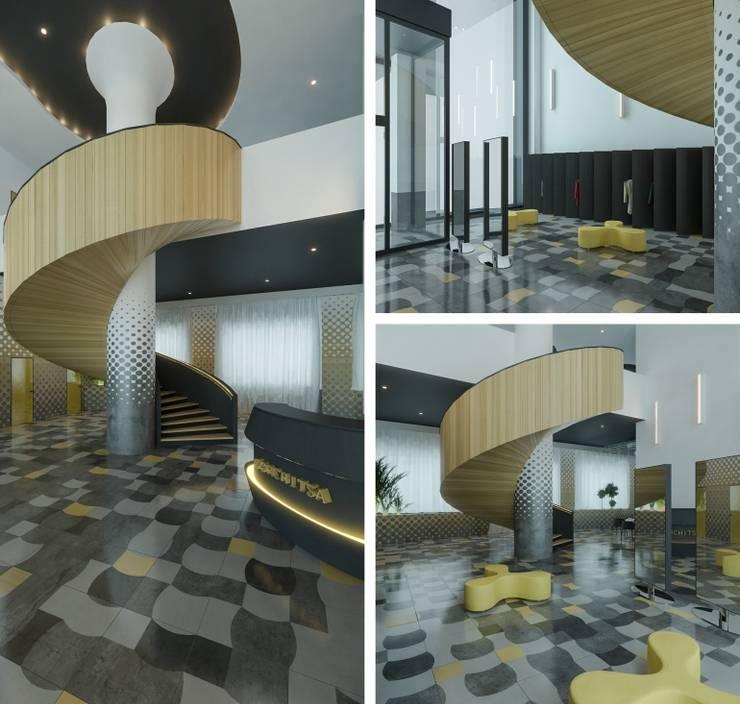 Входная группа | Ресепшн / Гардероб: Ресторации в . Автор – Architectural Bureau DAOFORM