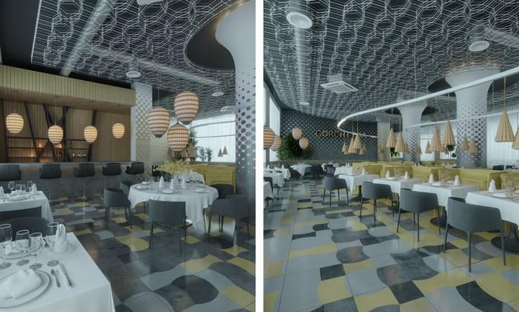 Бар: Ресторации в . Автор – Architectural Bureau DAOFORM