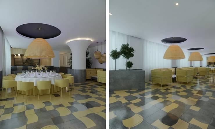 Обеденный зал: Ресторации в . Автор – Architectural Bureau DAOFORM