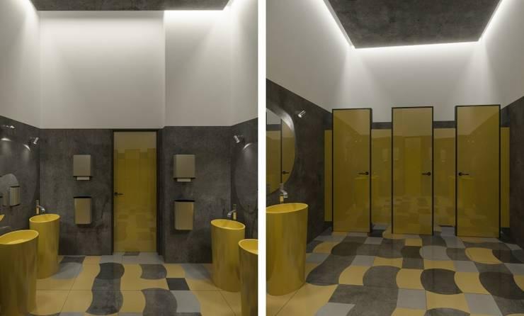 Женский WC: Ресторации в . Автор – Architectural Bureau DAOFORM