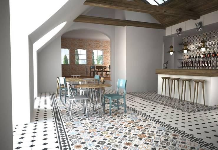 Salas de estar  por Gama Ceramica y Baño  , Moderno