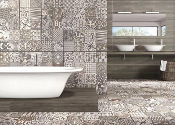 Banheiros  por Gama Ceramica y Baño  , Moderno