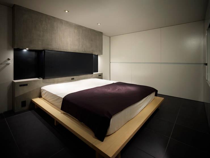 中野坂上のリノベーション: トリノス建築計画が手掛けた寝室です。