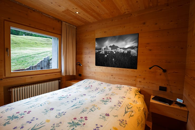 H1740: Camera da letto in stile  di BEARprogetti - Architetto Enrico Bellotti