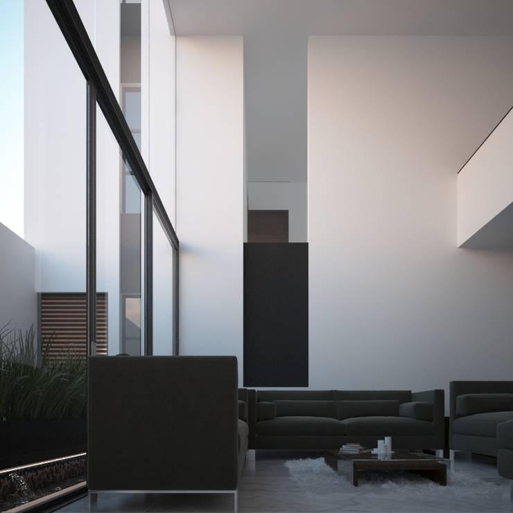 Sala Salones minimalistas de RTstudio Minimalista