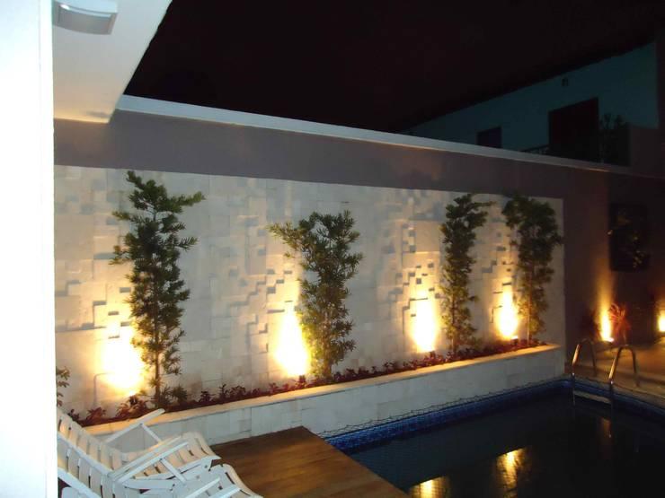 Jardines de estilo  por Kátia Borges - arquitetura+interiores