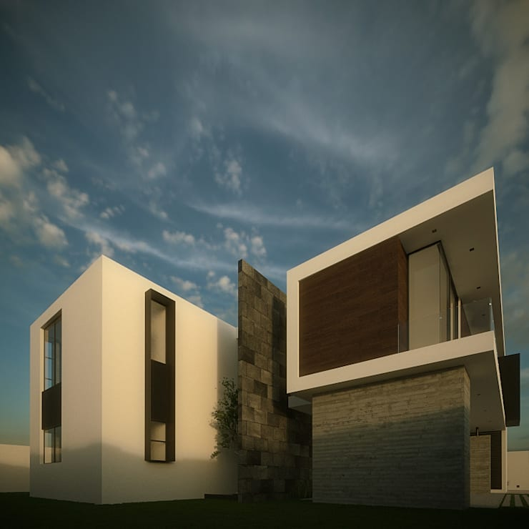 Fachada Interior: Casas de estilo  por RTstudio