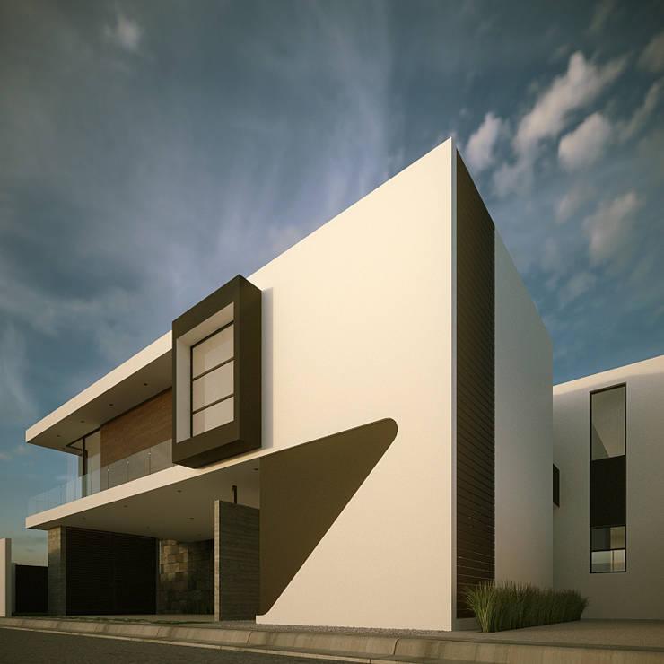 Fachada Principal: Casas de estilo  por RTstudio