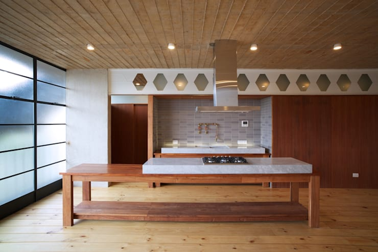 EGL 1916: Cocinas de estilo  por Alvaro Moragrega / arquitecto