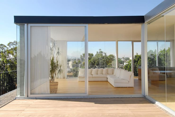 Terrazas de estilo  por Alvaro Moragrega / arquitecto