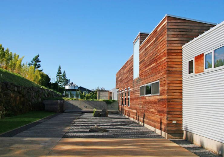 Lani Nui Ranch: Casas de estilo  por Alvaro Moragrega / arquitecto