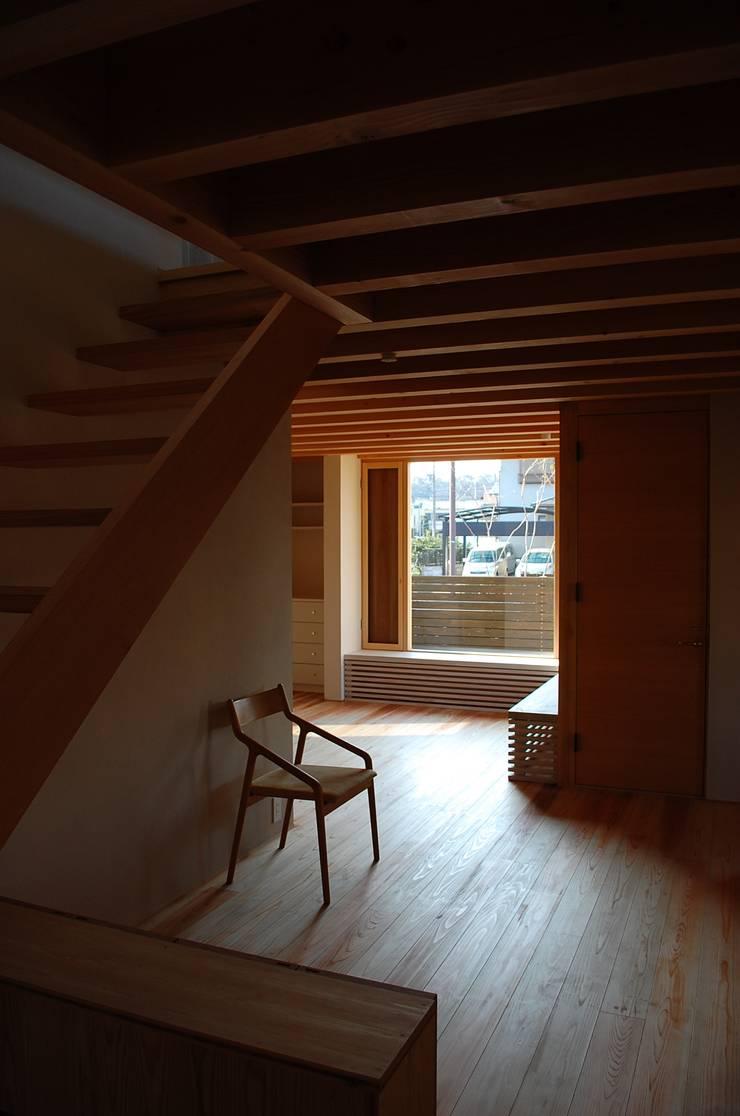 長森の家 和風デザインの リビング の ELEPHANTdesign 和風