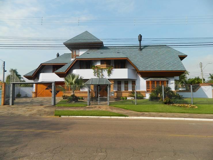 rustic Houses by Kauer Arquitetura e Design