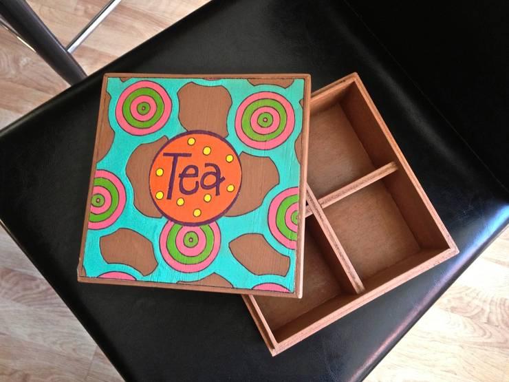Caja de te fractalis 1: Hogar de estilo  por Libel