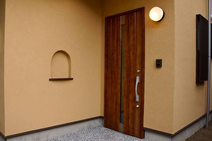 緑区の家: 波多周建築設計が手掛けた家です。