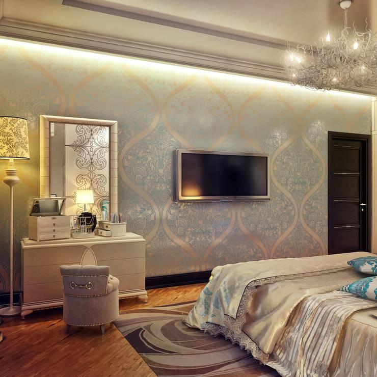 Спальня для романтиков: Спальни в . Автор – Sweet Home Design, Эклектичный