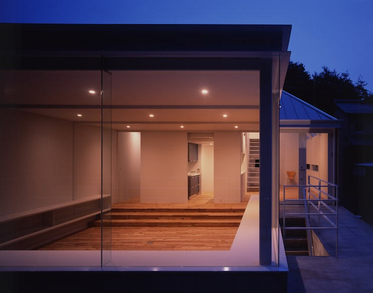 House in Otsu: Junya Toda Architect & Associatesが手掛けた和室です。