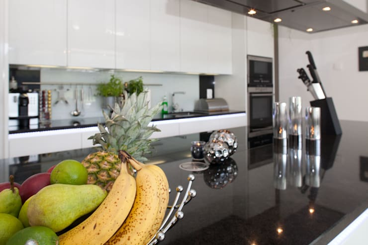 Projekty,  Kuchnia zaprojektowane przez ELK Fertighaus GmbH