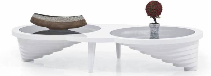 İBELYA GROUP DAN. DIŞ TİCARET – PL-011 Coffee Table: akdeniz tarzı tarz Oturma Odası